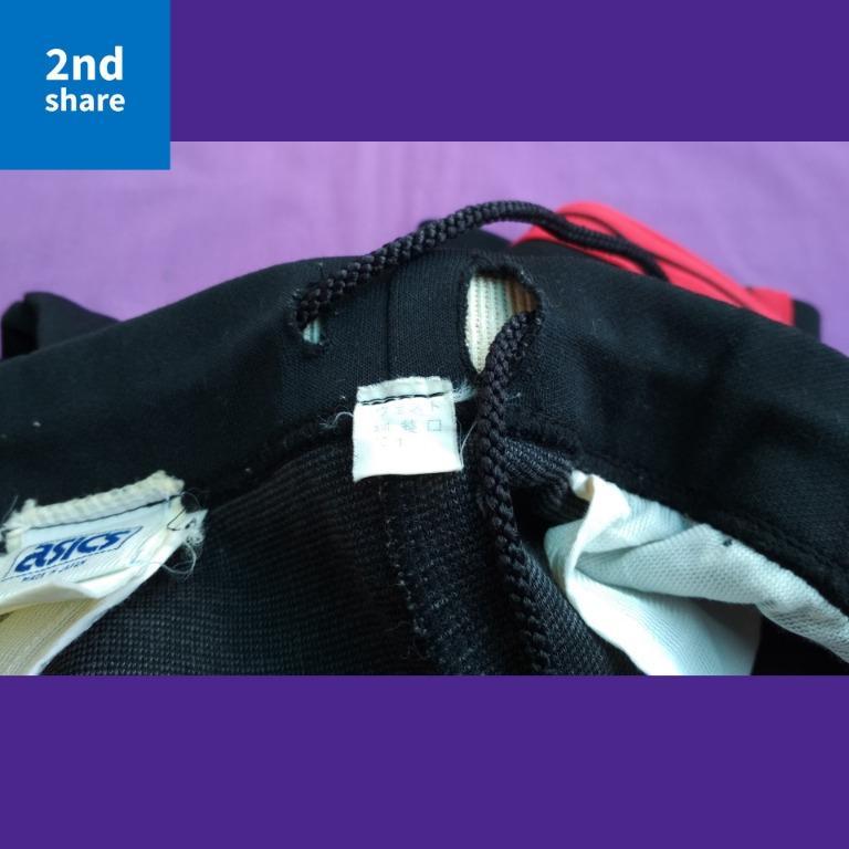 TrackPants Asics BlackRed 96x82