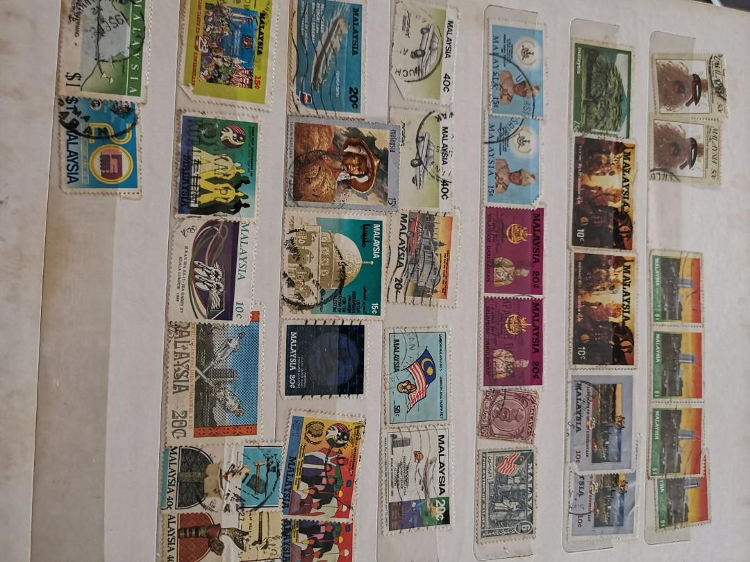 Vintage STAMPS from 60's to 80's