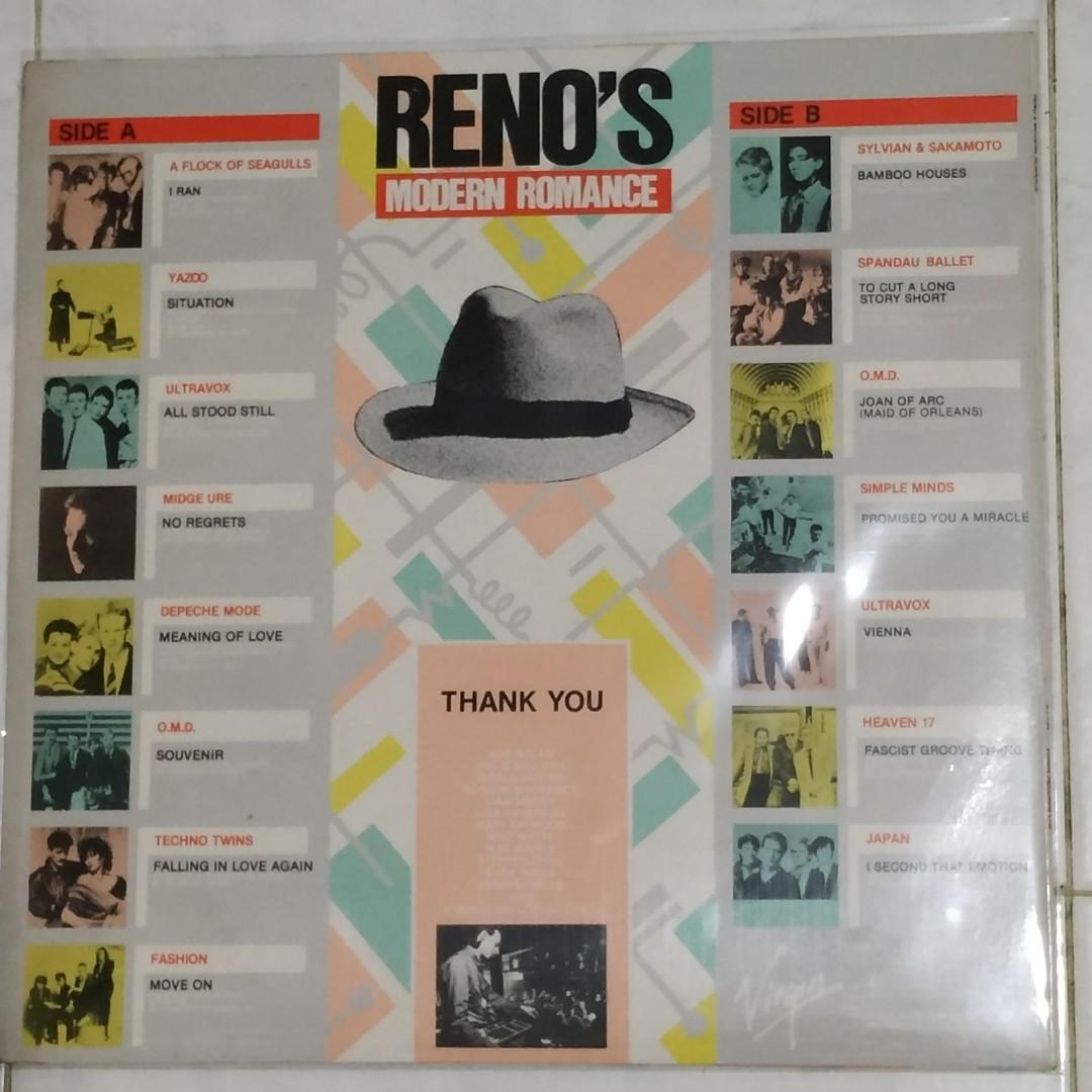 Vinyl LP : Reno's Modern Romance