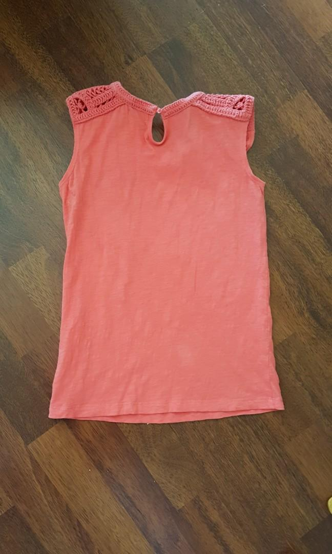 Witchery Pink summer top  (light breathable fabric)