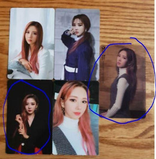 """WTT/WTS Dreamcatcher """"The End of Nightmare"""" Photocards"""