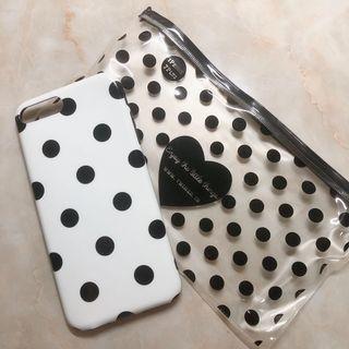 Iphone 7plus 8plus點點手機殼