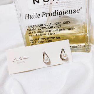 全新925純銀 小巧珍珠設計款耳環