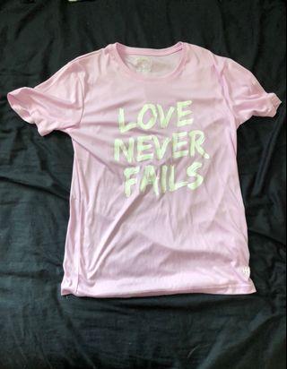 🔥雙10當天特價100!🔥韓系韓版超可愛粉色字母上衣T恤顯瘦時尚ins火紅