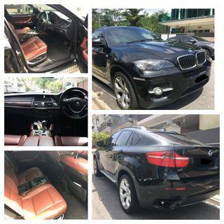 BMW X6 3.0 turbo