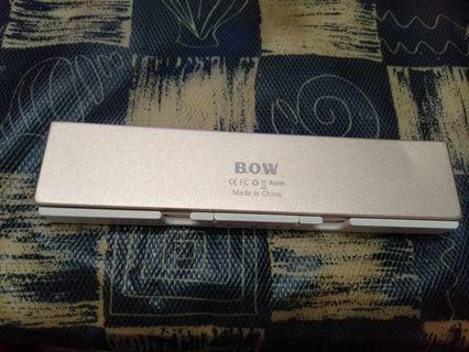 BOW航世 迷你摺疊藍牙鍵盤 蘋果安卓手機平板電腦通用無線可攜式小