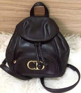 Authentic christian dior backpack