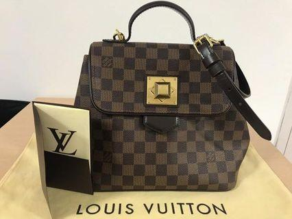 Authentic louis vuitton bergamo damier ebene