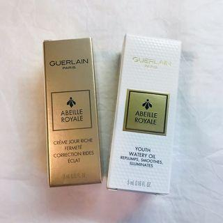 GUERLAIN嬌蘭皇家蜂王乳香緹日霜(豐潤版)/平衡油
