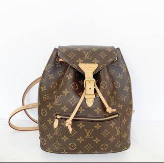 Authentic louis vuitton montsouris backpack