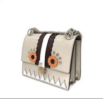 Authentic fendi kan i mini owl