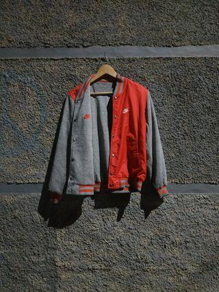 Vintage nike varsity reversible jacket Not uniqlo dickies