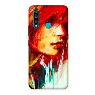 Red Rebel Vivo Z1 Pro Custom Hard Case