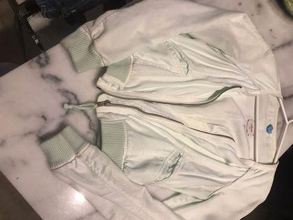 Wilfred Mint Green Cropped Jacket