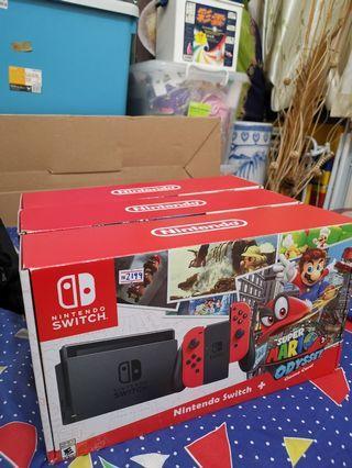 WTB Nintendo Switch mario version