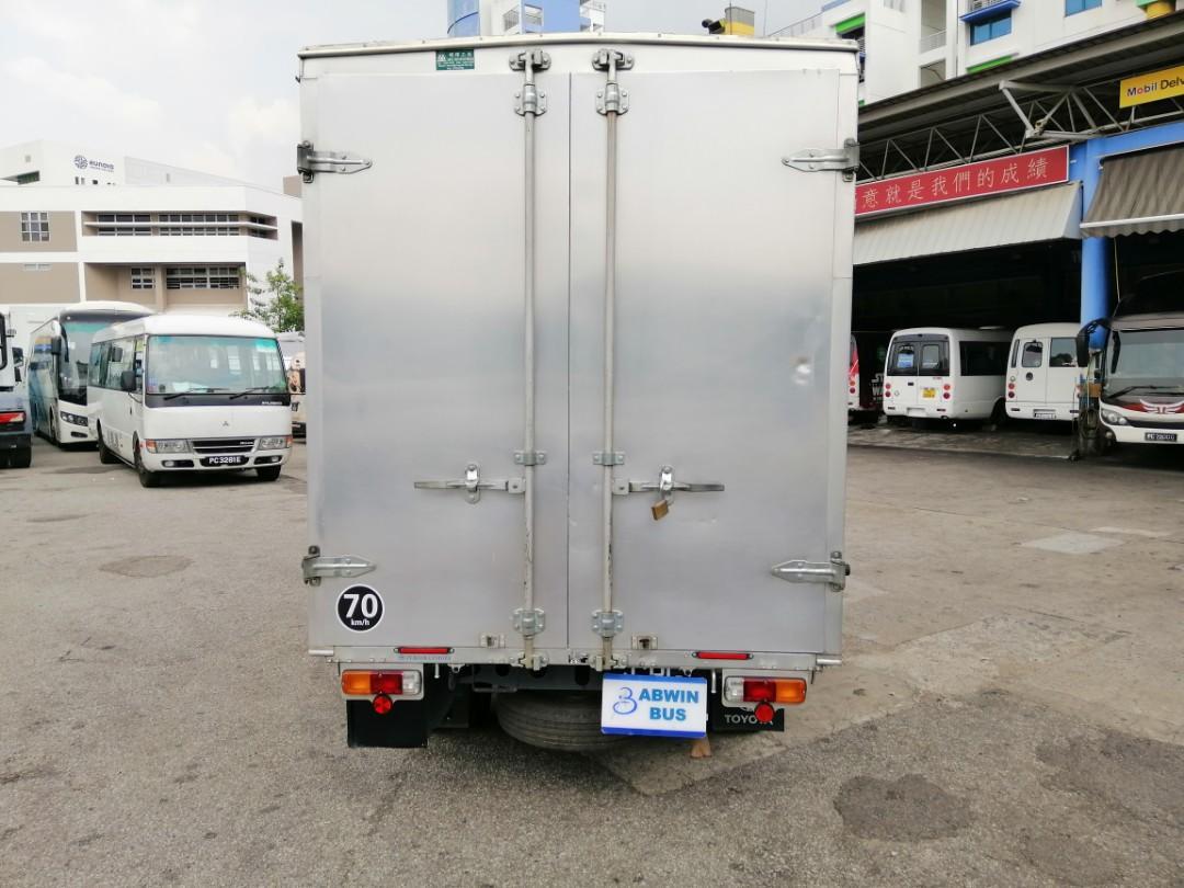 07/17 Toyota Dyna With BOX