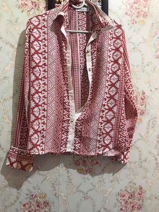 blouse bahan sifon