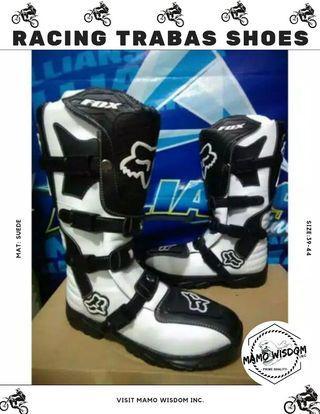 Racing trabas shoes