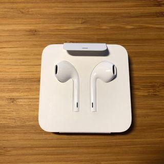 全新未拆封原廠蘋果 Apple IPHONE8 IPHONE7 IPHONE6 3.5mm 耳麥圓頭耳機麥克風 無轉接頭