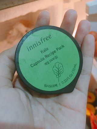 Innisfree Capsule Recipe Pack Kale