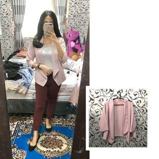 Outer blazer pink