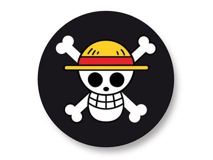 One Piece Pirate Flag Badge Round 58mm