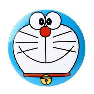 Original Doraemon Badge Round 43mm