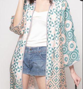 Keysha outwer linen batik