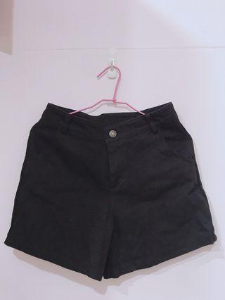 (全新)西裝短褲 學生原宿Bf寬鬆百搭Ulzzang褲子