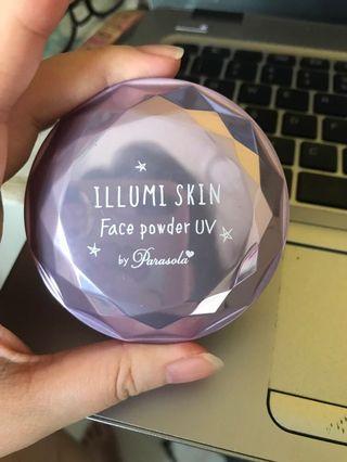 Authentic Parasola Japan illumin skin face powder