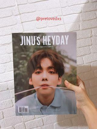 READYSTOCK Jinu's HEYDAY Sealed Album