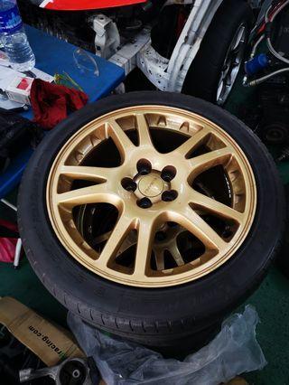 Subaru Impreza WRX STI Version 7 Wheels