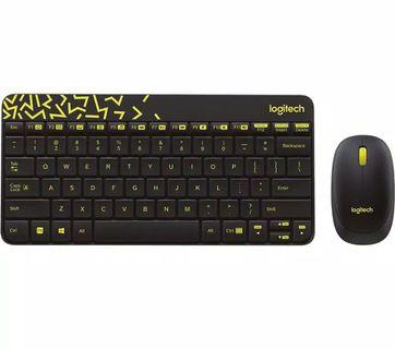 Logitech Nano Keyboard + Mouse wireless MK240
