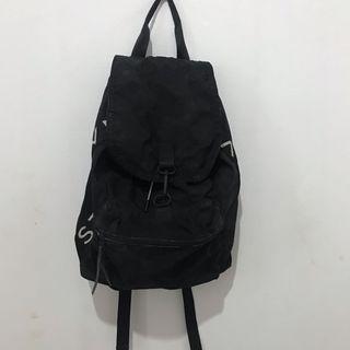 Black Backpack Bershka