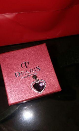 Liontin Hati Dparis necklace heart pendant