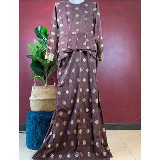 Custome Authentic Songket Dress
