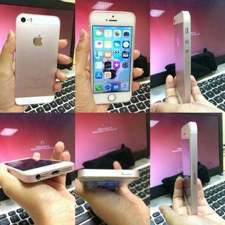 IPhone 5s (casing se rosegold)