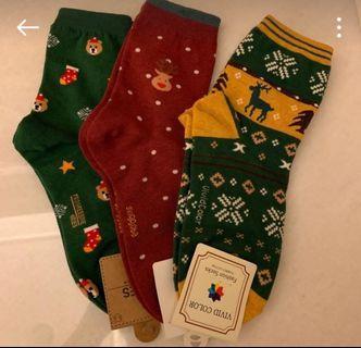 可愛風的襪子