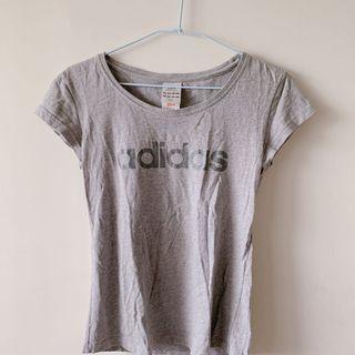 Adidas 上衣 灰s