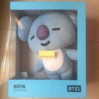 (Pls read caption) BT21 JUMBO DOLL KOYA