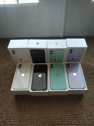 iPhone 11 128gb NEW Ready Not active Resmi