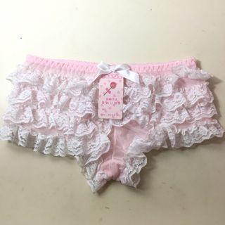 🍑粉色蛋糕平口褲