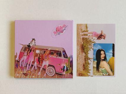 Red Velvet Day 2  Guidebook Joy Postcard + PC