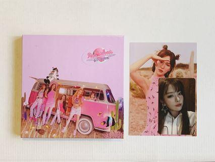 Red Velvet Day 2 Guidebook Wendy Postcard + Seulgi PC