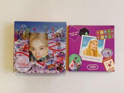 Red Velvet Day 2 Yeri Kit + PC