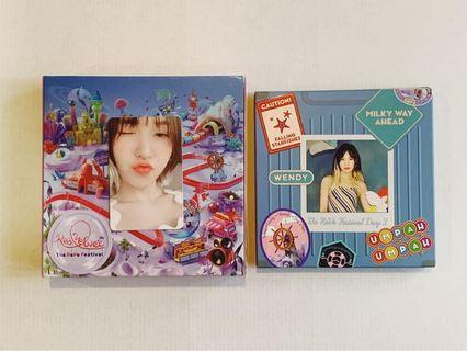 Red Velvet Day 2 Wendy Kit + PC