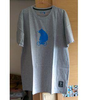 (全新)佐丹奴塗鴉棉質短袖上衣T恤(大尺碼)女生2XL~3XL可穿
