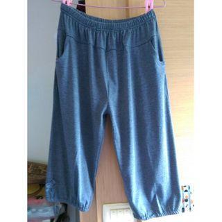 (全新)舒適彈性百搭鬆緊褲腰休閒褲(加大尺碼2XL~3XL~4XL~5XL~6XL都可穿,95公斤)