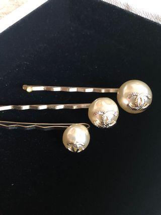 Chanel 3 hair pin