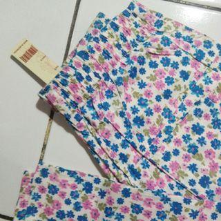 Celana Katun Flower